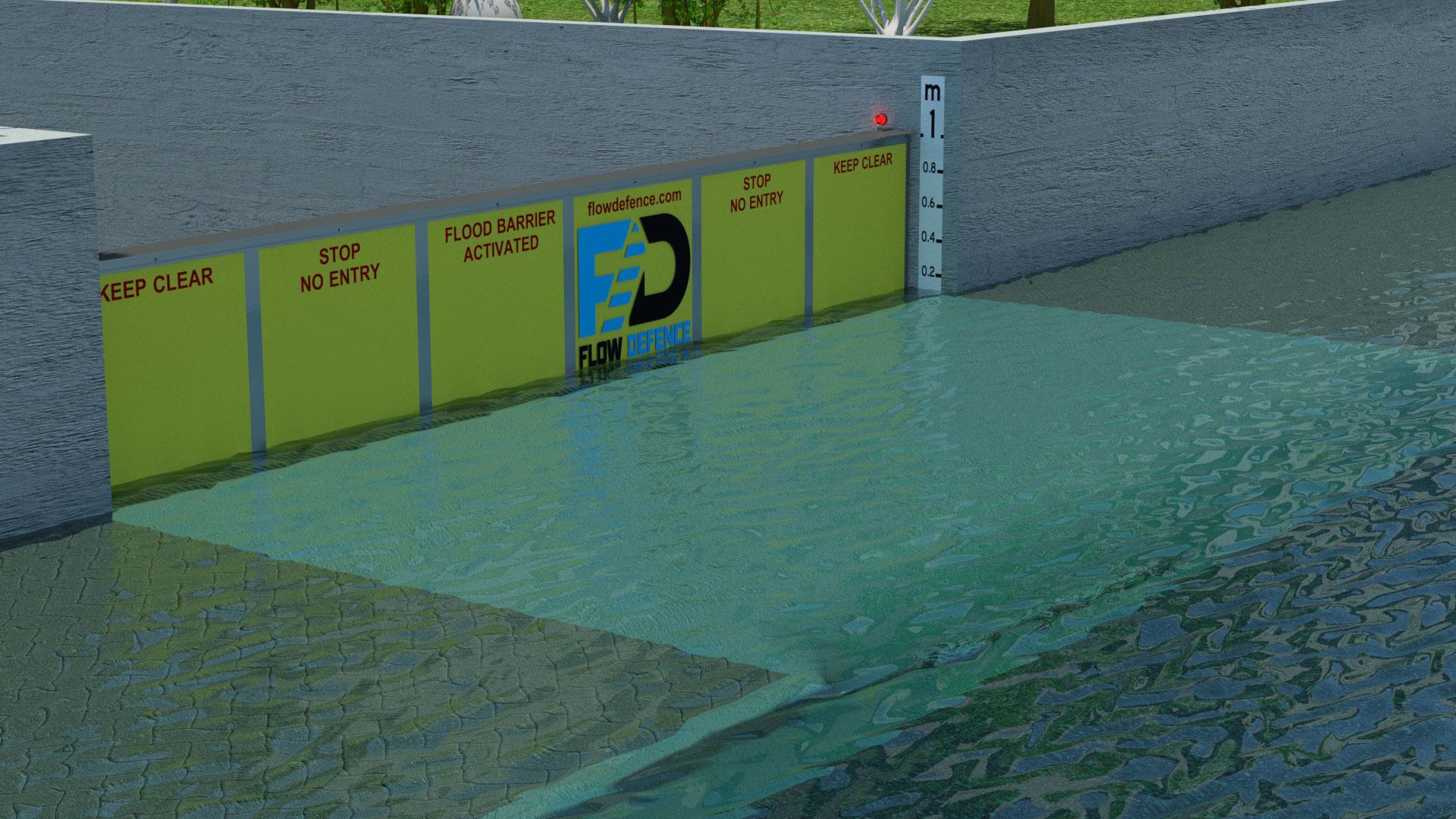 flood barrier australia